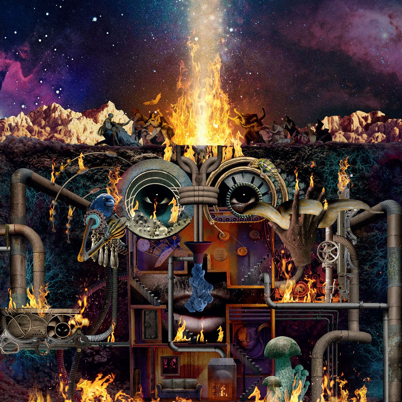 Flying Lotus Announces New Album Flamagra Shares Song and Video With David Lynch Watch